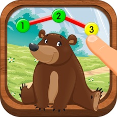 Activities of Animal Math Games for Kids in Pre-K, 1st Grade Learning Numbers, dot to dot - Macaw Moon