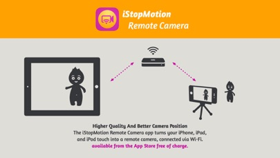 iStopMotion Remote Camera Screenshot on iOS