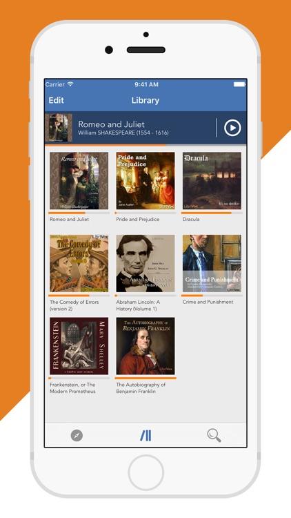 Audiobooks from Librivox - FREE 10,000+ Audio Books mp3 screenshot-3