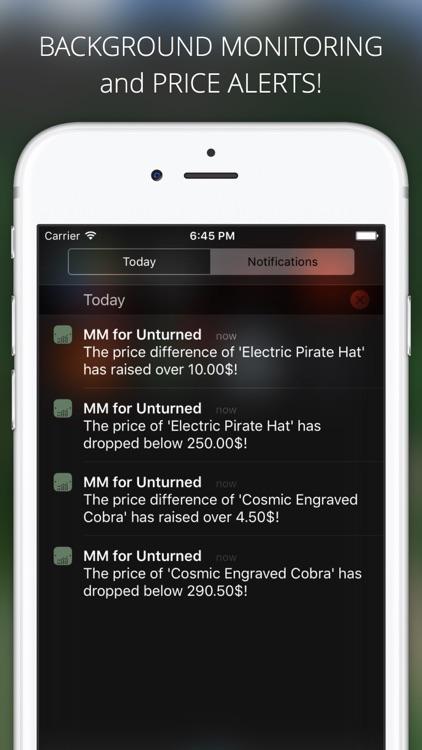 Market Monitor for Unturned screenshot-3