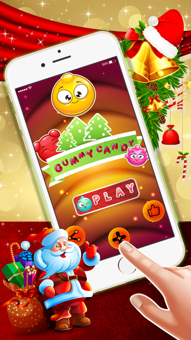 Gummy Candy Match : - Crazy matching game for Christmas