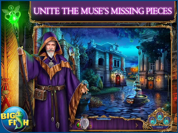 Labyrinths of the World: Forbidden Muse HD - A Mystery Hidden Object Game (Full) screenshot-0