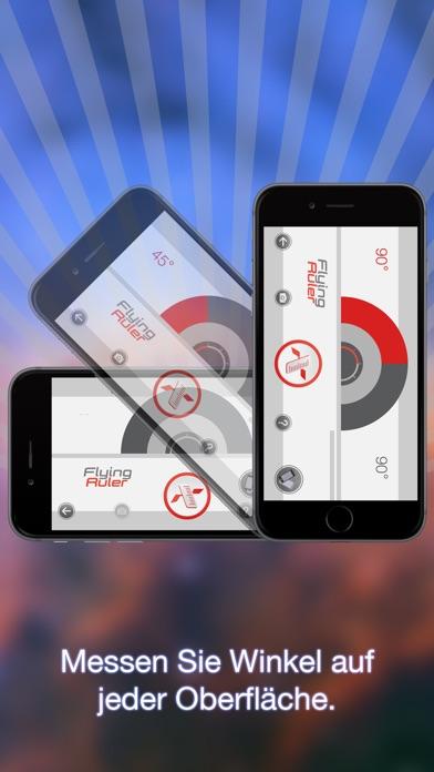 Screenshot for Zum Messen bewegen - Fliegender Zollstock in Germany App Store