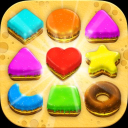 Cookies Crush Jelly Boom-Puzzle Game Free