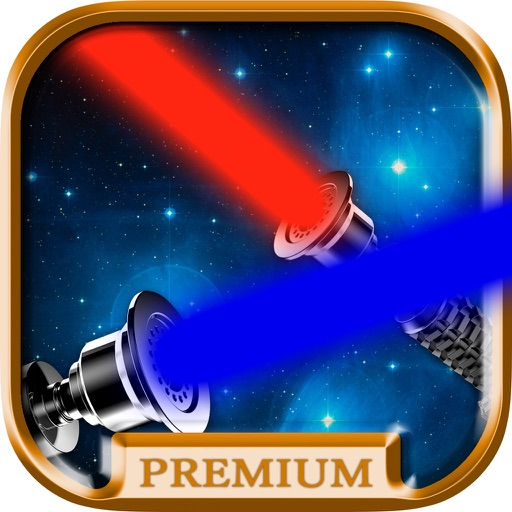 Lightsaber of galaxies Simulator of laser sword with sound effects and camera to take pictures - Premium