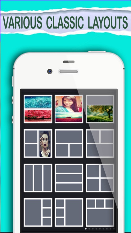 Instant collage maker - create photo collage with beautiful photo frames screenshot-3