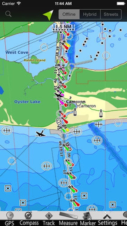 Louisiana GPS Nautical charts screenshot-3