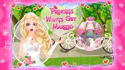 Princess Wants Get Married – Bride Dressup & Makeup Free screenshot two