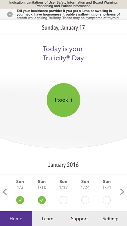 Trulicity App™