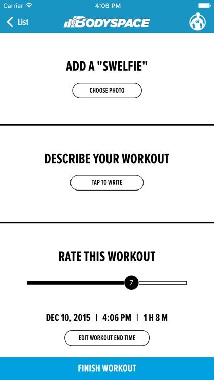 BodySpace - Social Fitness App screenshot-3
