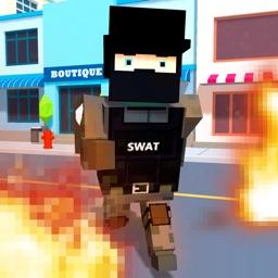 Pixel Wars: City Battlefield 3D