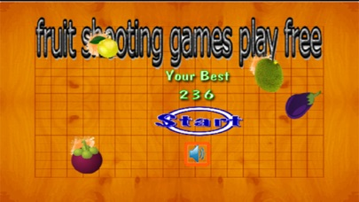 fruit shooting games play free screenshot one
