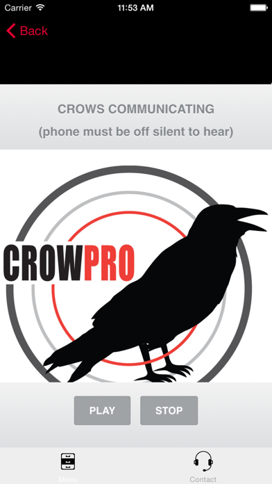 Screenshot for Crow Calling App-Electronic Crow Call-Crow ECaller in United States App Store