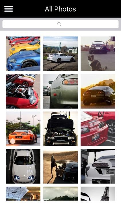HD Car Wallpapers - Toyota Supra Edition