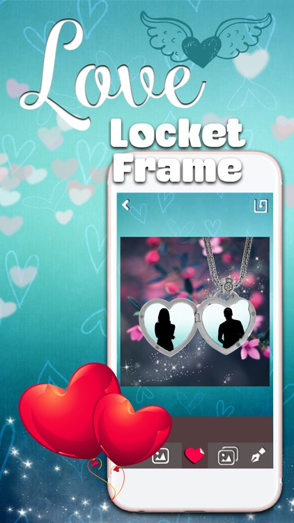 Locket Frames for Love Pics – Filter Your Romantic Photos and Add ...