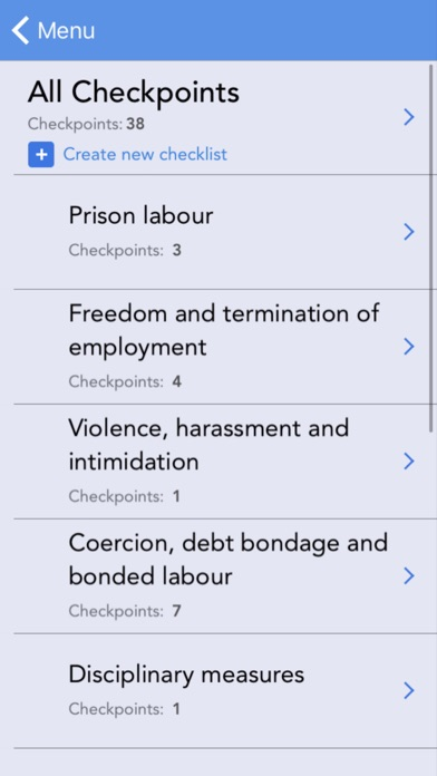 Eliminating and Preventing Forced Labour: Checkpoints screenshot two