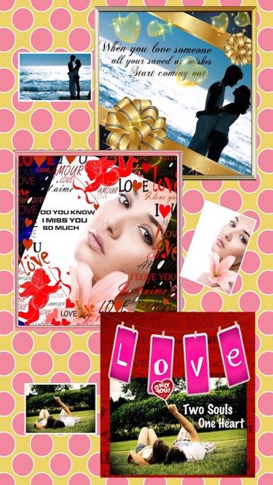 Valentine's Photo Frames screenshot three