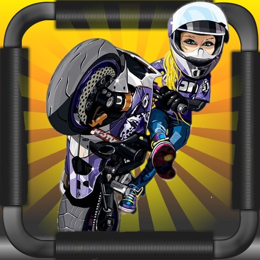 A Stock Bike Racing - Motocross Hill Jump