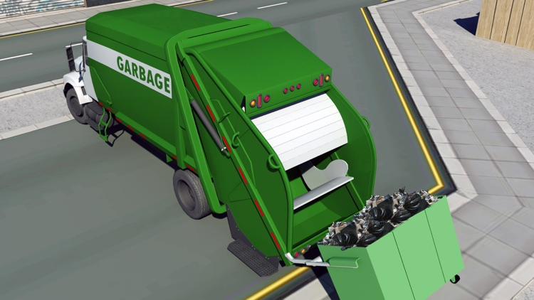 City Cleaner Garbage truck simulation screenshot-4