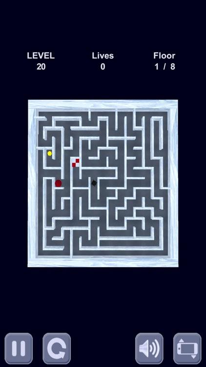 Ice cube. Labyrinth 3D screenshot-4