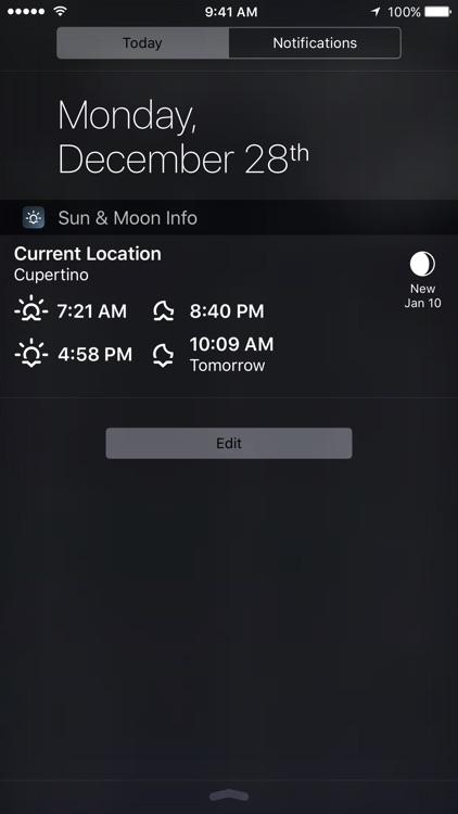 Sun & Moon Calculator screenshot-3