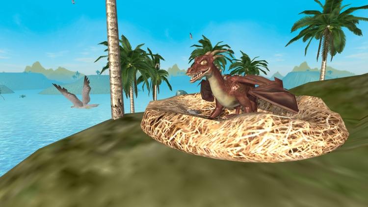 Flying Dragon Simulator 2016 screenshot-3