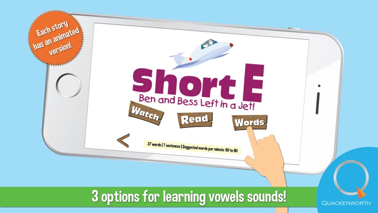 Vowel Stories for Beginning Readers: Learn to Read Long and Short Vowel Sounds
