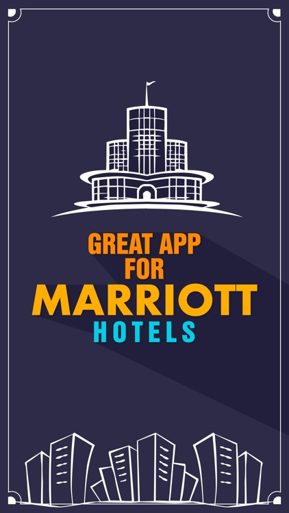 Great App for Marriott Hotels