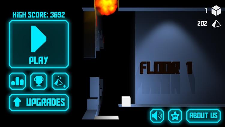 Cube Run - The Dark Building screenshot-4