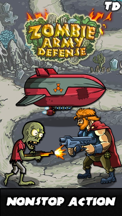 Zombie Army Defense screenshot-3