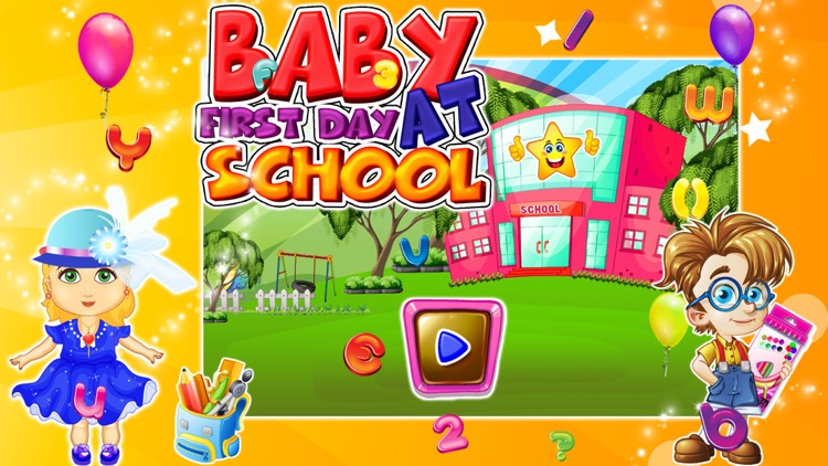 Baby First Day At School – kids learning & education game