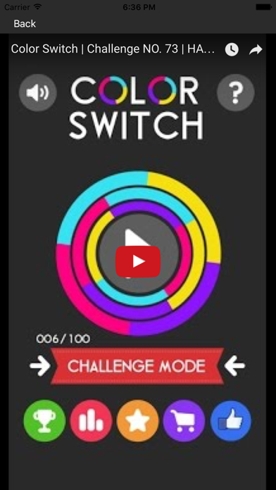 Cheats For Color Switch screenshot one