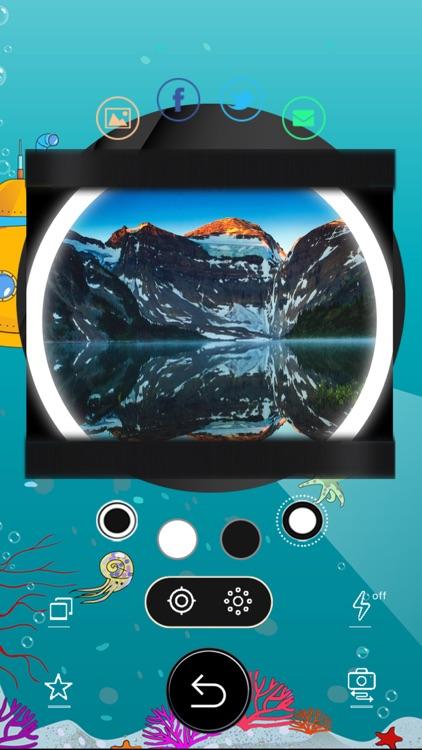 Circular Fisheye Lens Camera screenshot-4