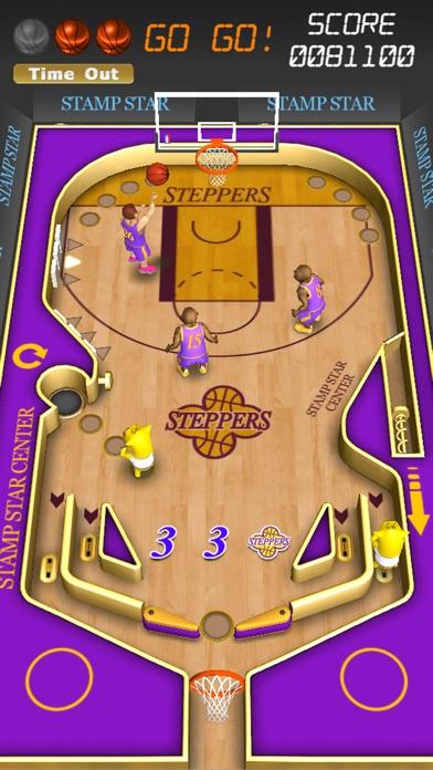 PIN BASKET BALL 3D ピンボールのスクリーンショット1