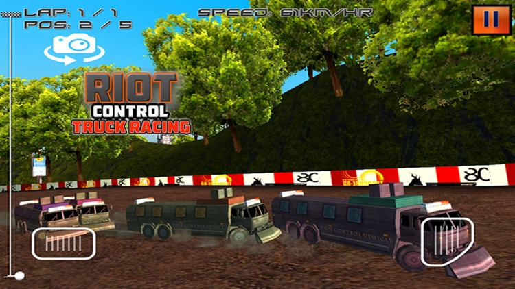 Riot Control Truck Racing screenshot-1