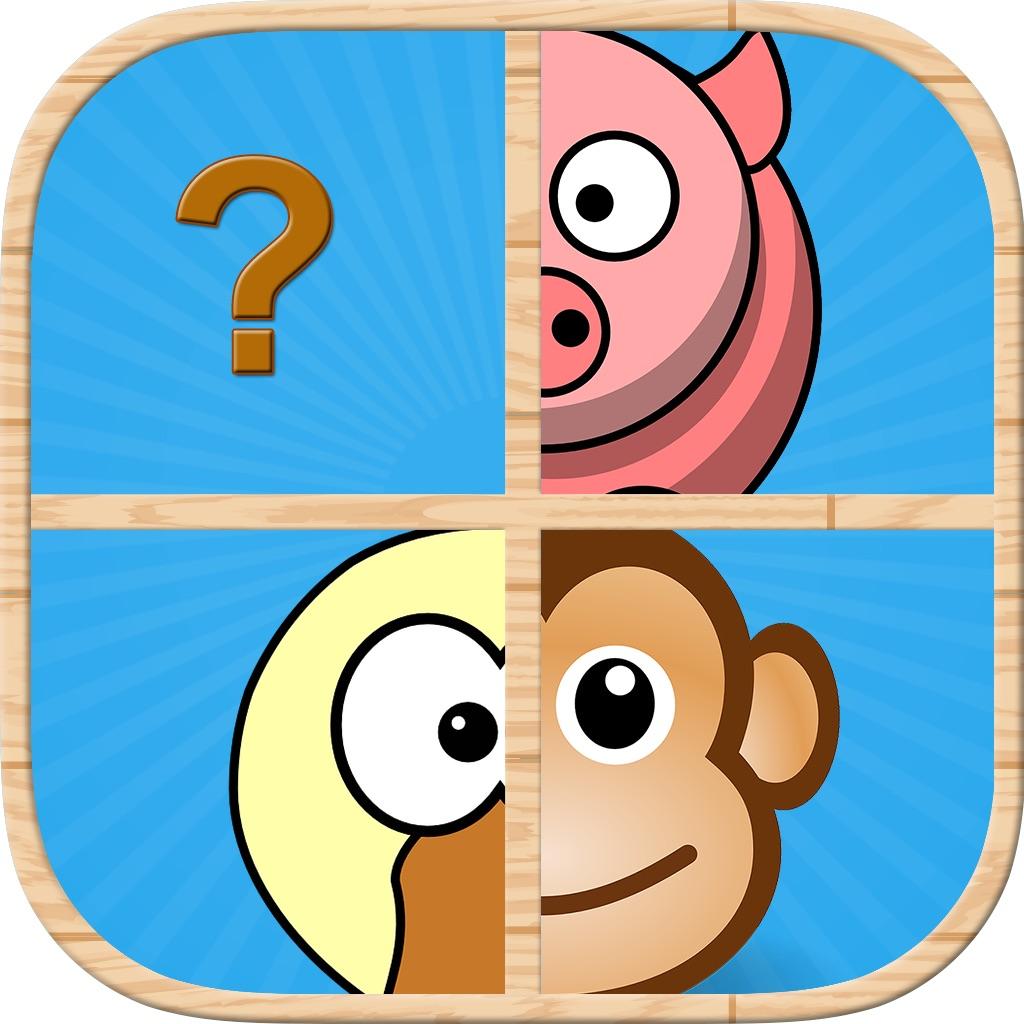 Animal Pairs Matching : Fun Animals Farm Puzzles Game For Kid hack