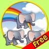 我的孩子和丛林动物,他们的收藏 - 免费游戏