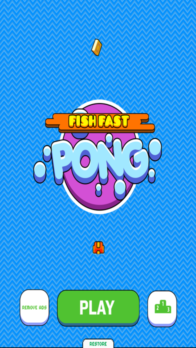 Fish Fast Pong: Water Goal Tennis