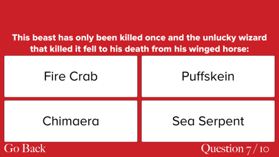 Ultimate Trivia for Fans of Fantastic Beasts: Harry Potter Edition screenshot four