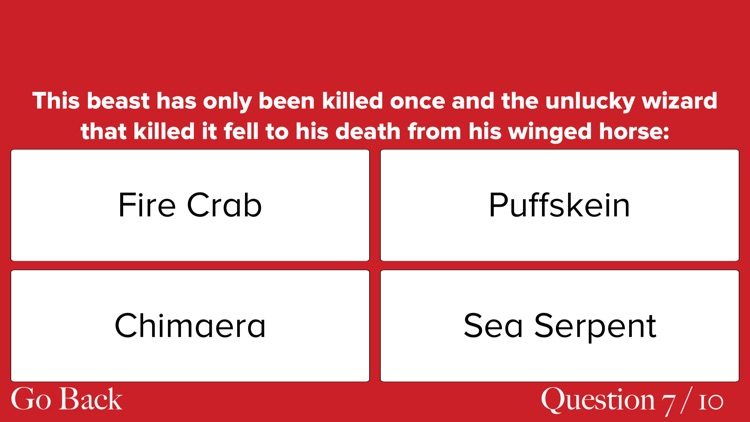 Ultimate Trivia for Fans of Fantastic Beasts: Harry Potter Edition screenshot-3