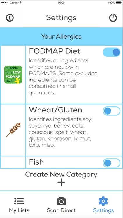 IBS FOOD SCAN screenshot-3