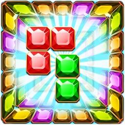 Diamond Block Launcher Legend - Jewel and Torrid Blaze of Crystal Bricks