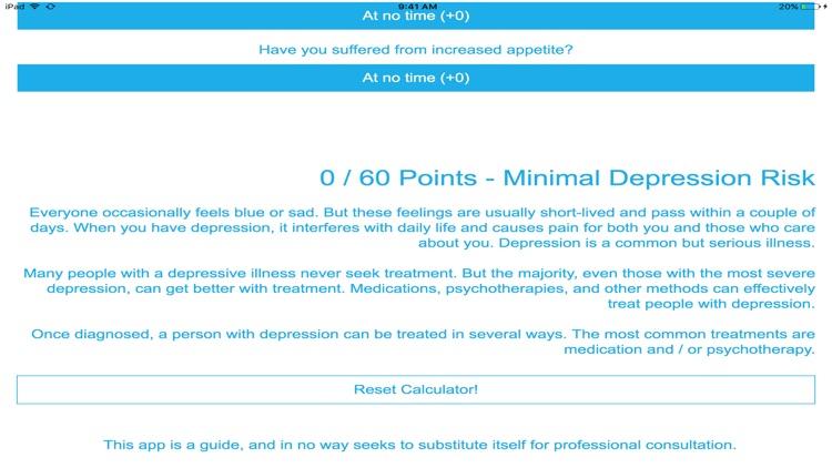 My Depression Test screenshot-3