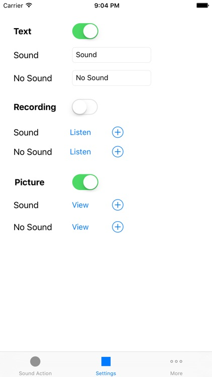 Sound Actions - Play sounds, music and display messages by sound detection and soundsleeper aware