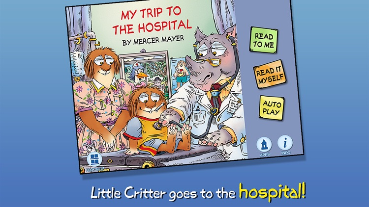 My Trip to the Hospital - Little Critter screenshot-0