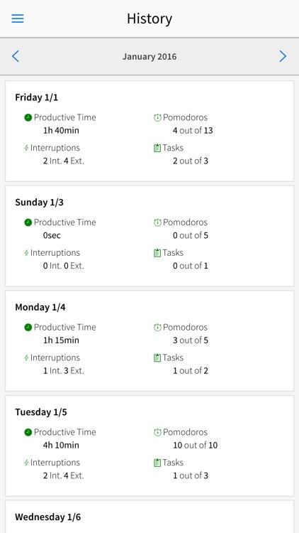 Track My Pomodoros screenshot-4