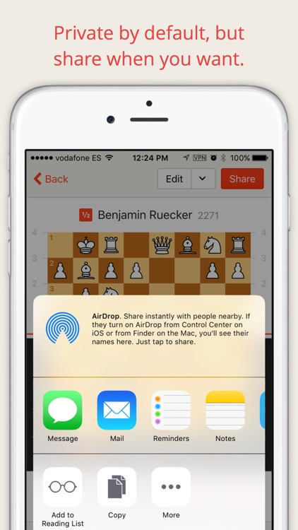 ChessDrop — Your personal chess database in the cloud.