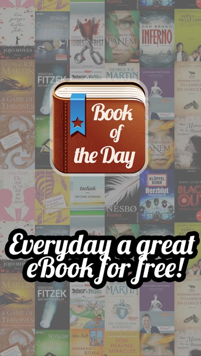 Book of the Day - Get one paid ebook for free every day! 100% FREE screenshot one