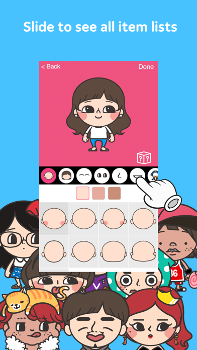 Vonvon Mini: Your unique avatar creator by Vonvon, Inc  (iOS, United