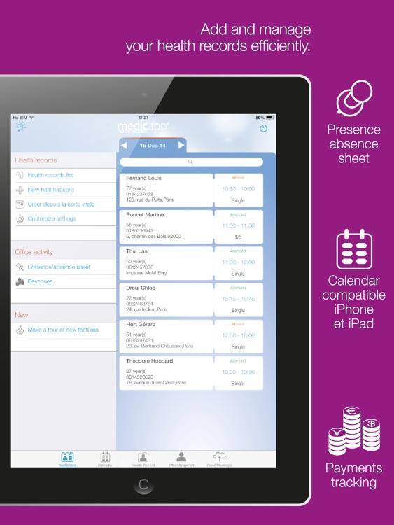 Medicapp Health Records screenshot-3